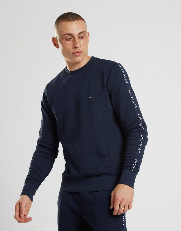 29d5f68d1 Tommy Hilfiger Sleeve Tape Crew Sweatshirt | JD Sports