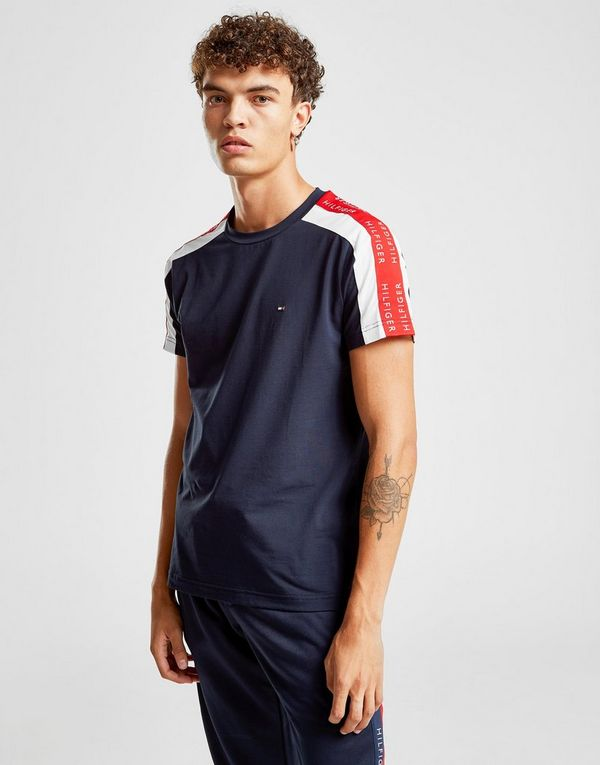 6092ded3a Tommy Hilfiger Contrast Tape Short Sleeve T-Shirt | JD Sports