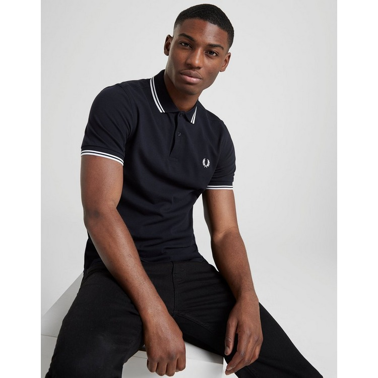 Fred Perry Polo Twin Tipped Manches Courtes Homme