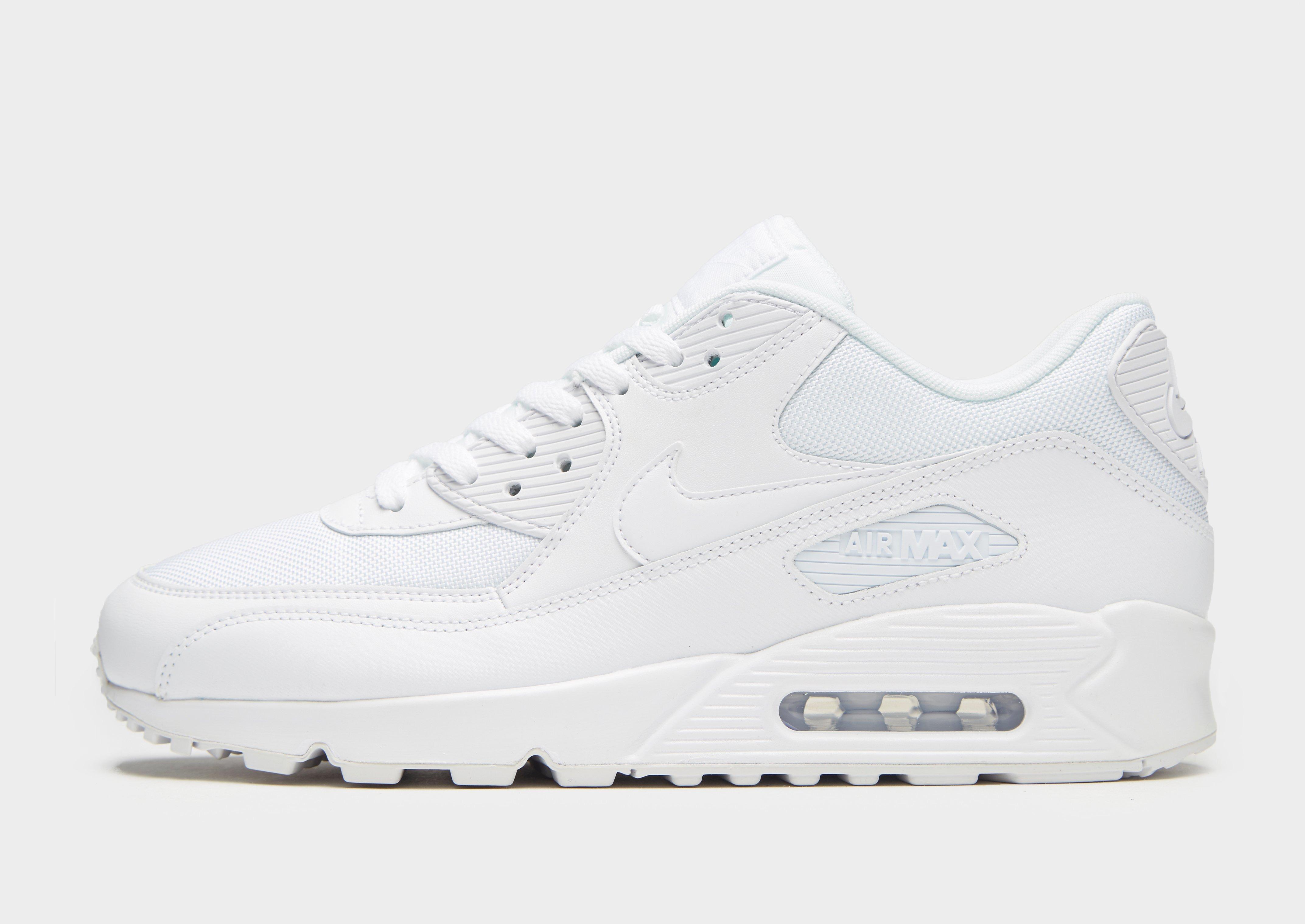 scarpe nike air max 90 bianche jd sport