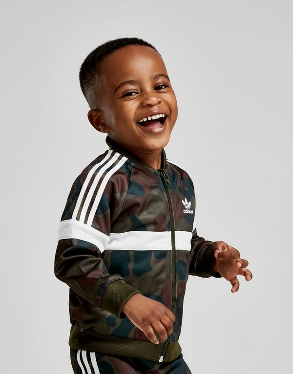 f011fffba1ed adidas Originals Itasca Camo Superstar Tracksuit Infant | JD Sports