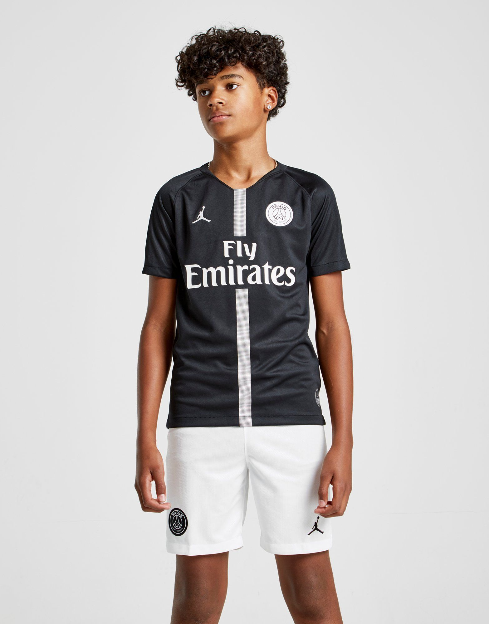 15e54c393ebb NIKE 2018 19 Paris Saint-Germain Stadium Third Older Kids  Football Shirt