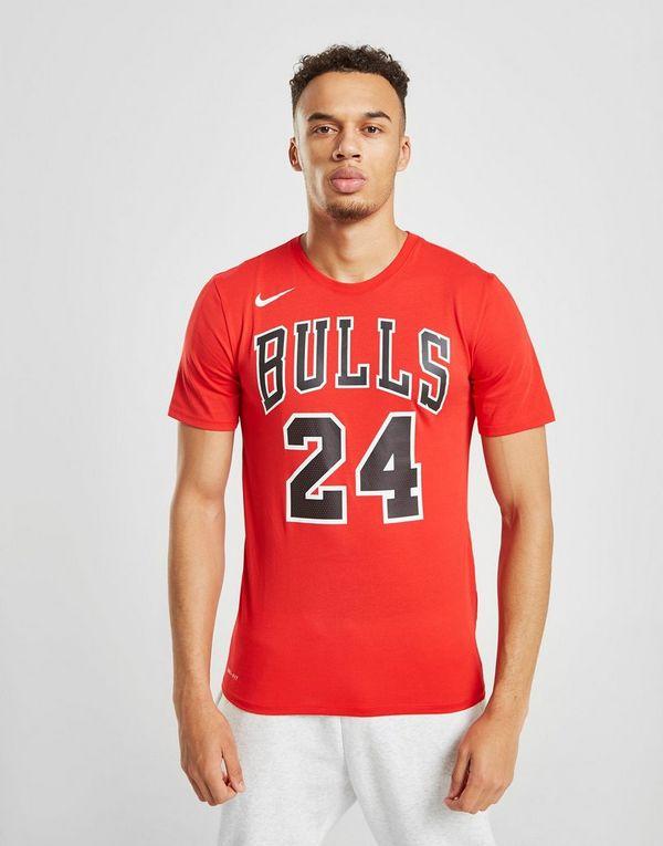 size 40 0647f a88ce Nike NBA Chicago Bulls Markkanen  24 T-Shirt   JD Sports