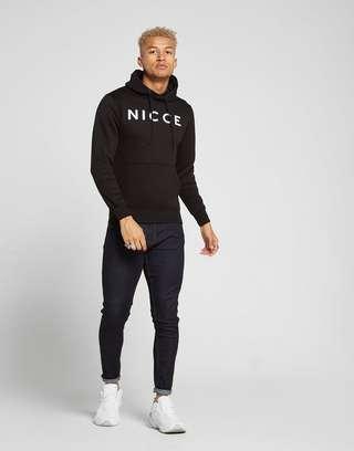 Nicce Large Logo Hoodie