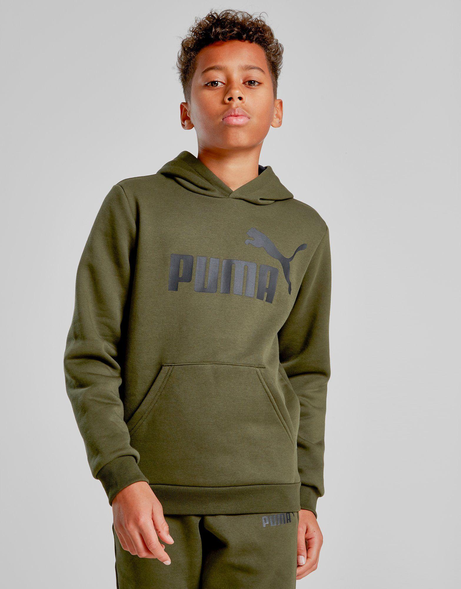 lowest price 5153b a3bec PUMA Core Logo Hoodie Junior   JD Sports