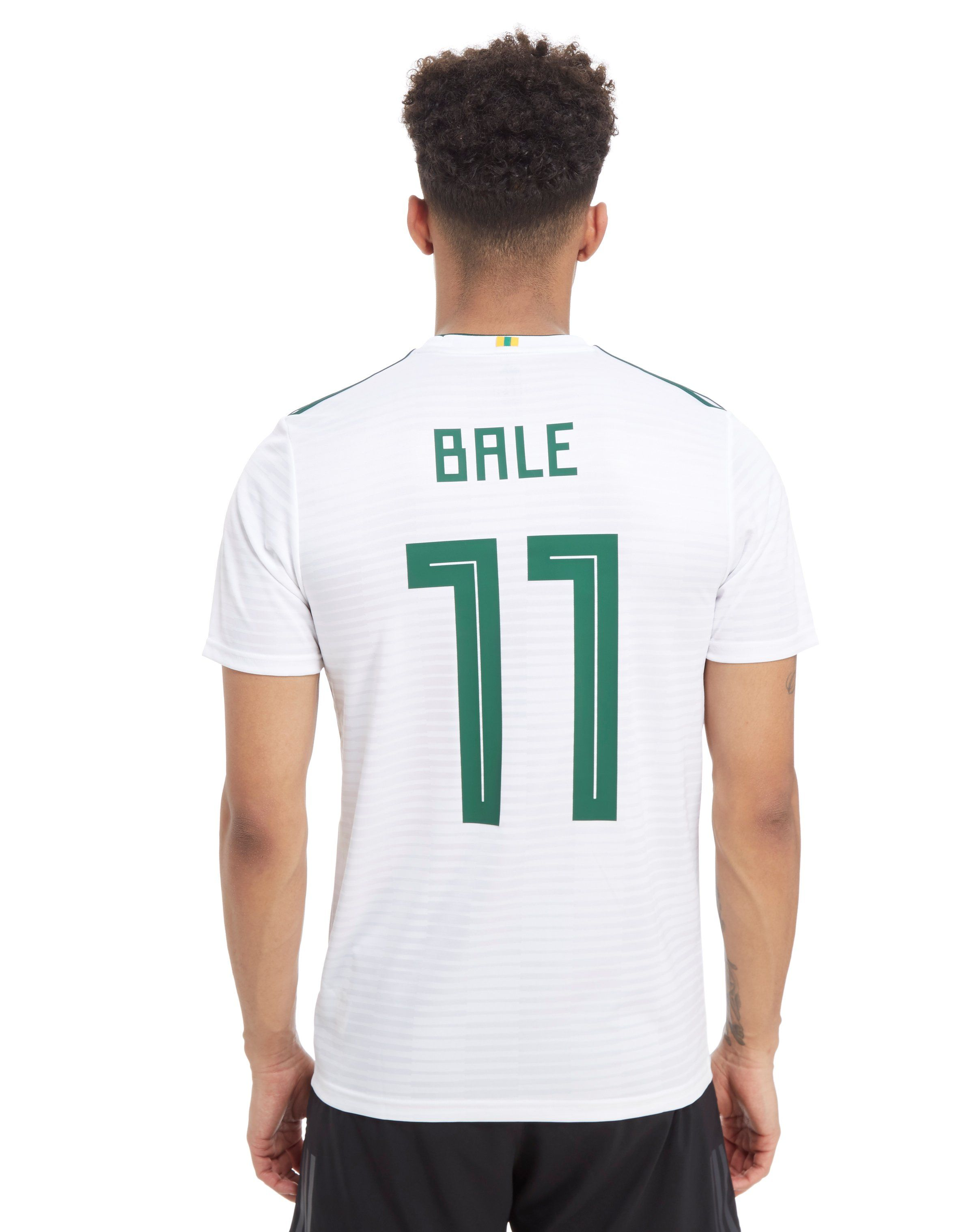 69ea73dbcb7 adidas Wales 2018 Away Bale #11 Shirt   JD Sports