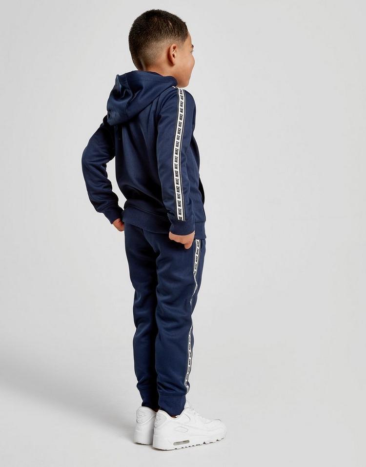 Nike Repeat Tape Poly Full Zip Tracksuit Children