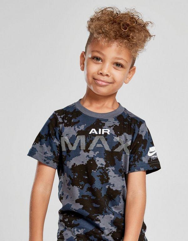 03be4974b Nike Air Max Camo T-Shirt Children | JD Sports