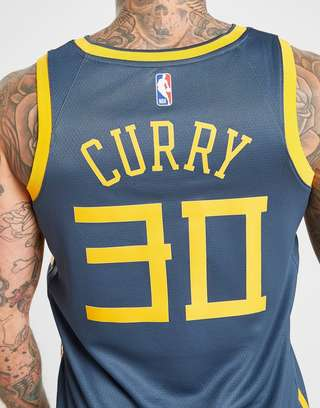 cheap for discount f7d75 0dcaf Nike NBA Curry Golden State Warriors City Jersey | JD Sports