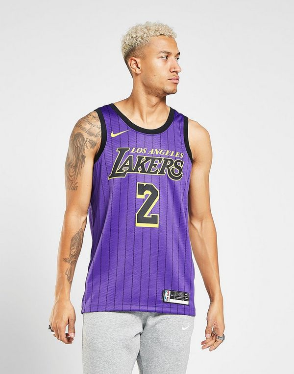 8002ce6c1a0 NIKE Lonzo Ball City Edition Swingman (Los Angeles Lakers) Men's Nike NBA  Connected Jersey