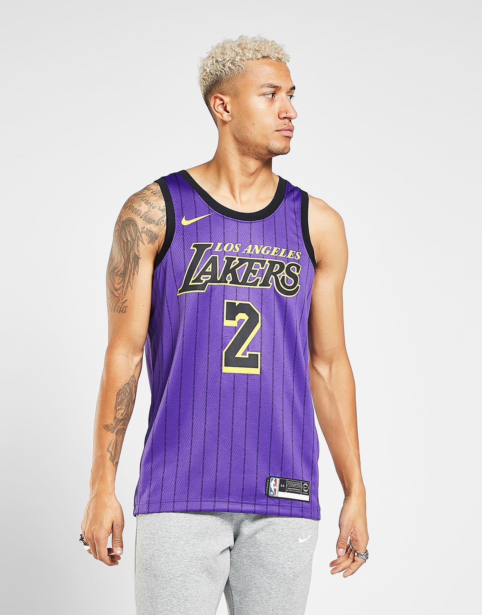 ac4b4773021 NIKE Lonzo Ball City Edition Swingman (Los Angeles Lakers) Men s Nike NBA  Connected Jersey