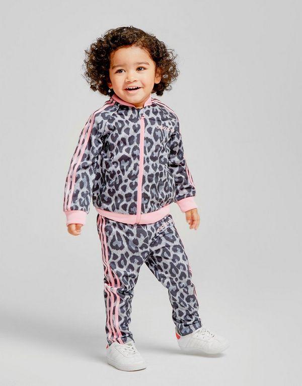9474538b651 adidas Originals Girls  Leopard Superstar Tracksuit Infant