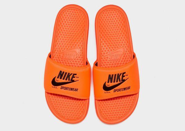 6b33040917f5 Nike Sportswear Benassi Text Slides