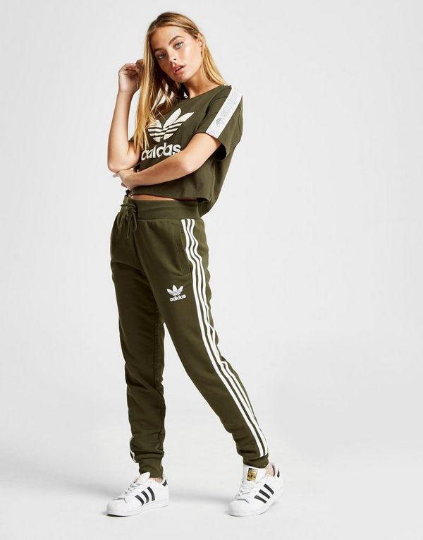 a871e8eda1663 adidas Originals 3-Stripes California Fleece Pants | JD Sports