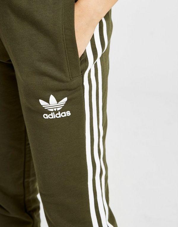 adidas Originals 3 Stripes California Fleece Track Pants | JD Sports