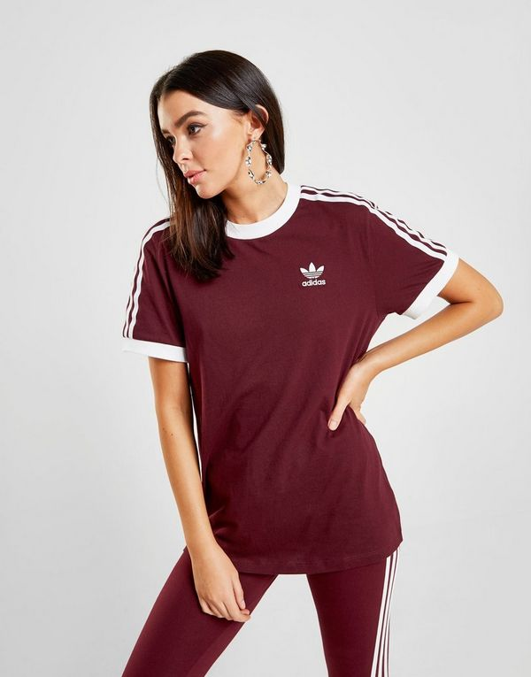 9652456132 adidas Originals 3-Stripes California T-Shirt Donna | JD Sports