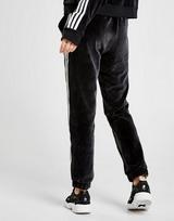 adidas Originals 3-Stripes Velvet Track Pants