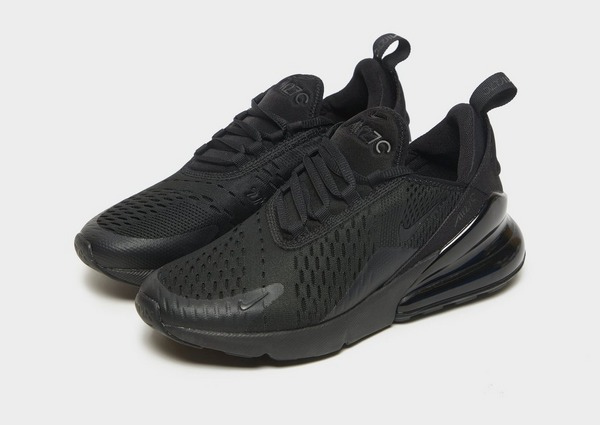 Acquista Nike Air Max 270 Junior in Nero | JD Sports