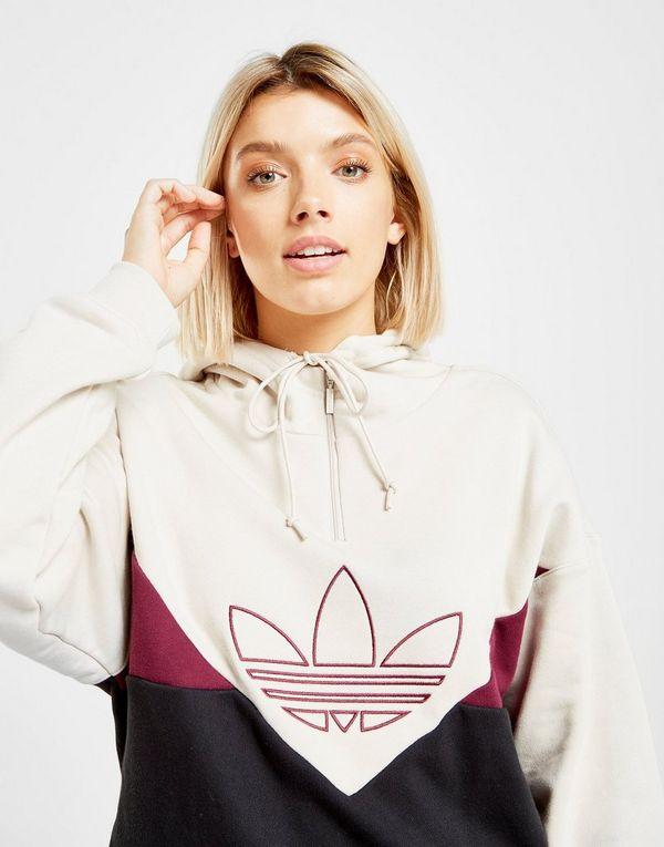 pretty nice ddff1 9f64b adidas Originals Colorado 1 4 Zip Felpa con cappuccio Donna
