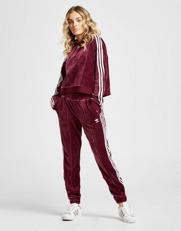 56f0c246567 adidas Originals 3-Stripes Velvet Track Pants Women's | JD Sports