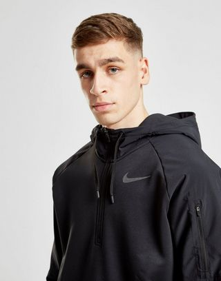 Nike Training Utility 1/2 Zip Felpa con cappuccio