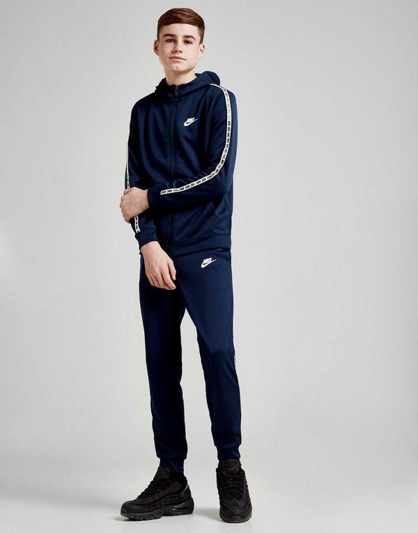 8f9f07534e Nike Tape Poly Full Zip Hoodie Junior | JD Sports