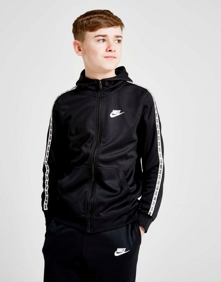 Nike Tape Poly Full Zip Hoodie Junior | JD Sports