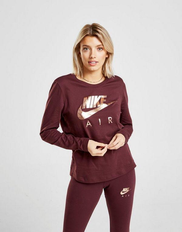 3f7af07f Nike Air Langærmet T-Shirt Dame | JD Sports
