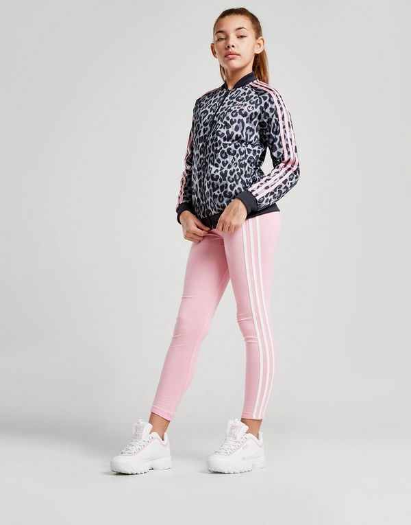 e4df5ccc4994 adidas Originals Girls  Leopard Superstar Track Top Junior