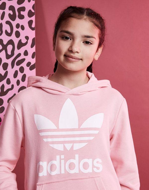 Adidas Originals Trefoil Sports JuniorJd Girls' Hoodie cTlF1KJ