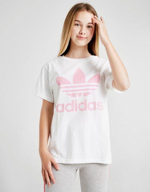 92010b4b2 adidas Originals Girls' Trefoil Boyfriend T-Shirt Junior | JD Sports