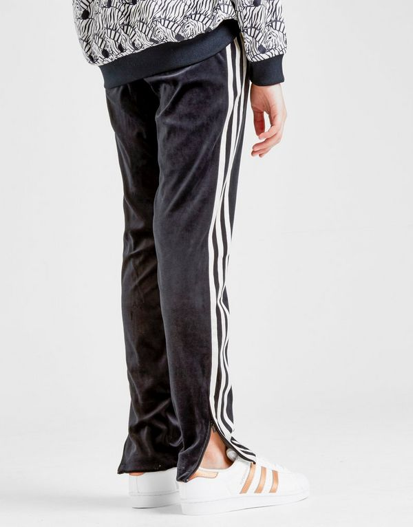 63ddc8d8149 adidas Originals Girls' Velvet 3-Stripes Track Pants Junior | JD Sports