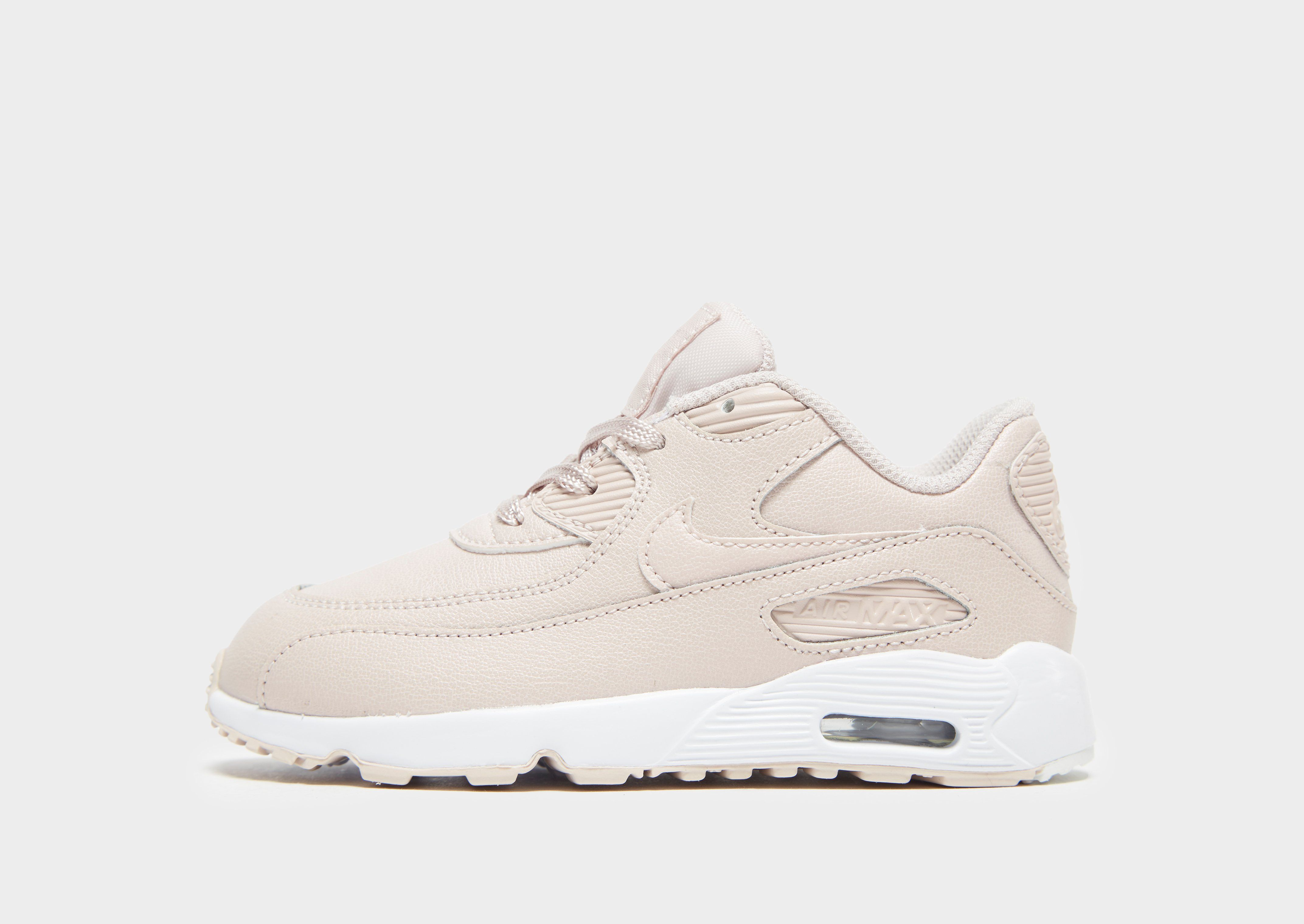 new style 3ce05 fa087 Nike Air Max 90 Leather Toddler Shoe | JD Sports