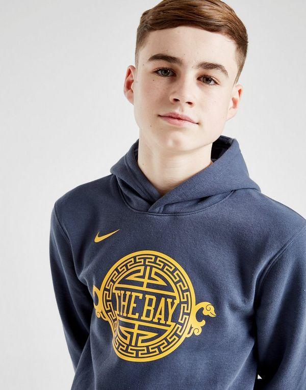 0b629c60e Nike NBA Golden State Warriors Overhead Hoodie Junior