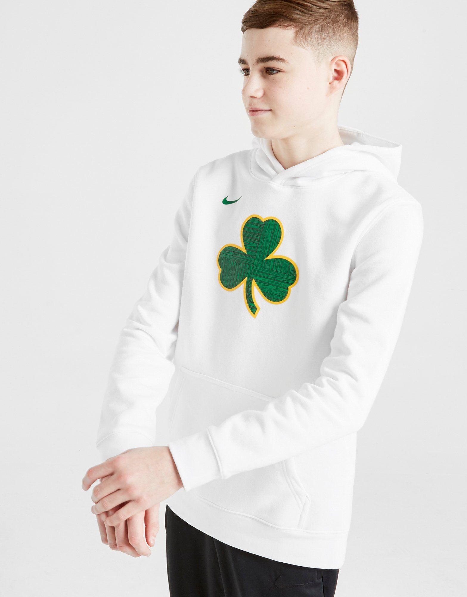 Nike NBA Boston Celtics Overhead Hoodie Junior