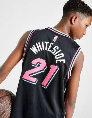 pretty nice 23744 e2dcb Nike NBA Miami Heat Whiteside #21 City Jersey Junior   JD Sports
