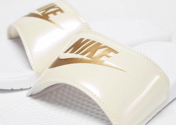 5363f17ff Nike Benassi Just Do It Slides Women s