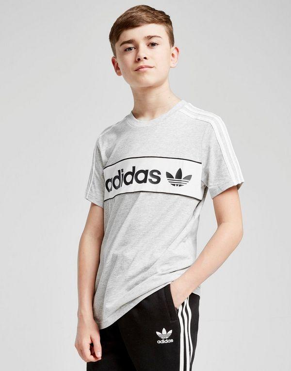 1ffc86d76 adidas Originals Linear Logo T-Shirt Junior | JD Sports