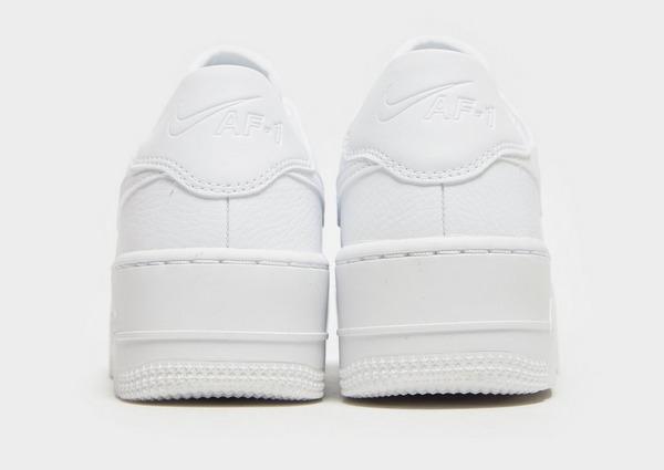 air force 1 donna bianche con suola alta