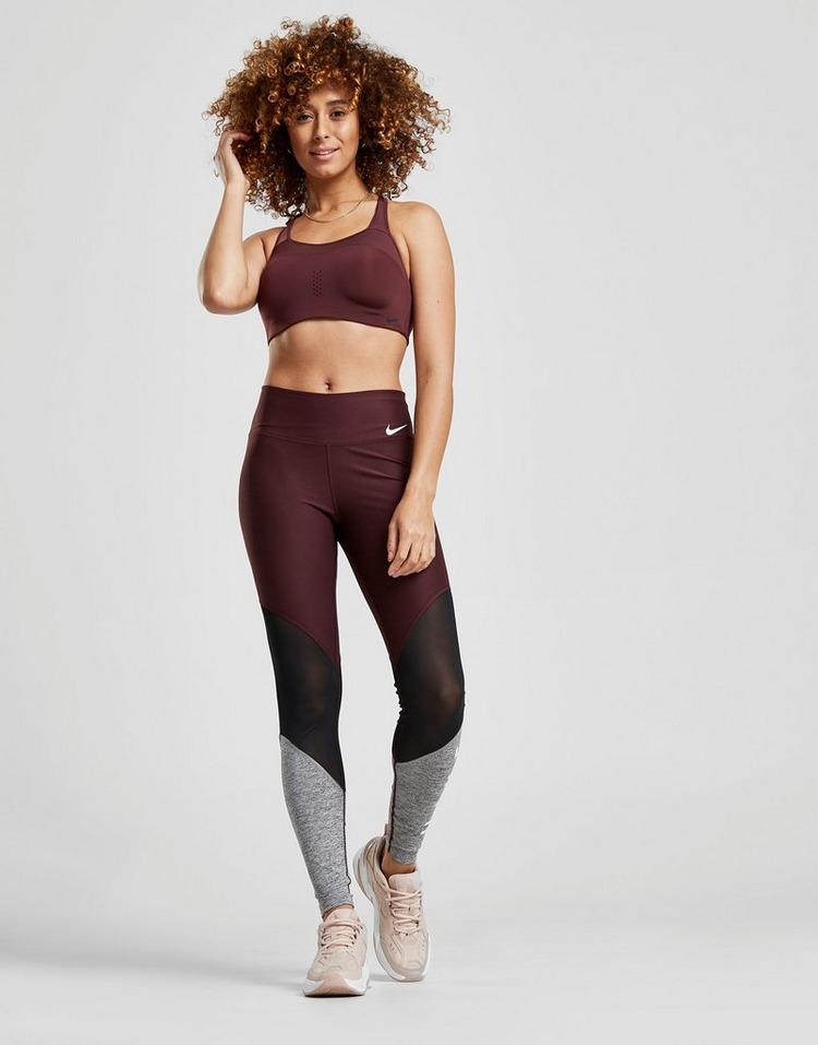 Nike Training Colour Block Mesh Tights