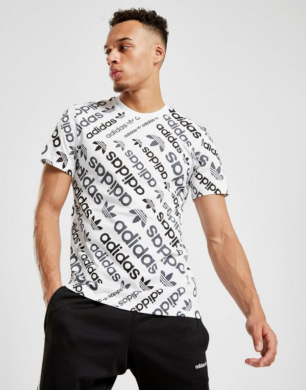 1a797c60b465 adidas Originals Trefoil All Over Print T-Shirt