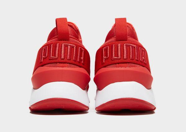 basket femme puma rouge