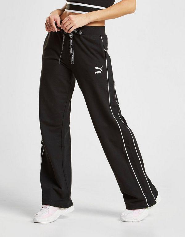 Puma Tape Wide Leg Track Pants | JD Sports