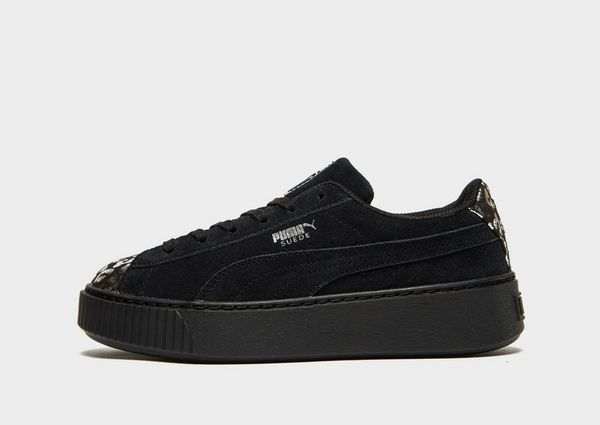 the latest 833ee 997c1 PUMA Suede Platform Lux Children
