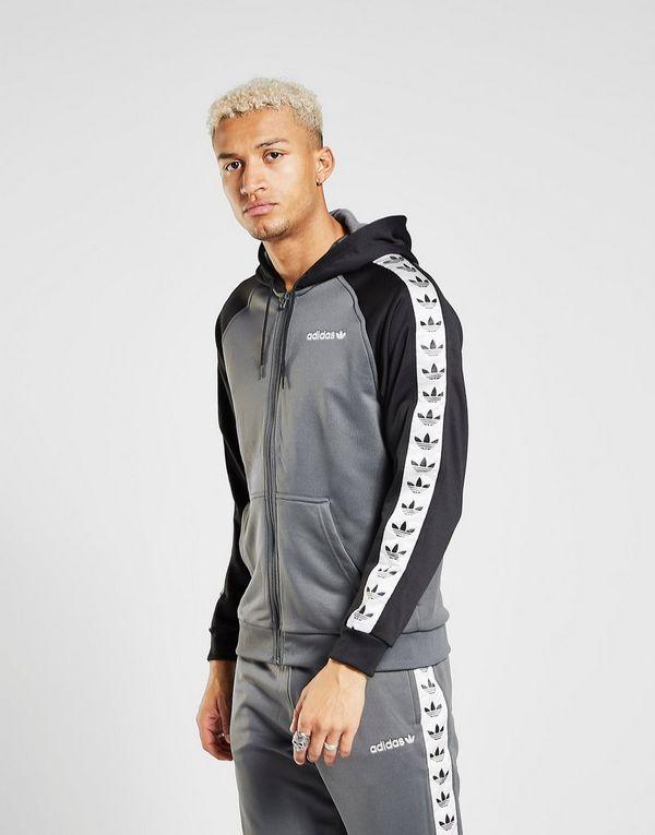 a020d1218 adidas Originals Tape Full Zip Hoodie | JD Sports