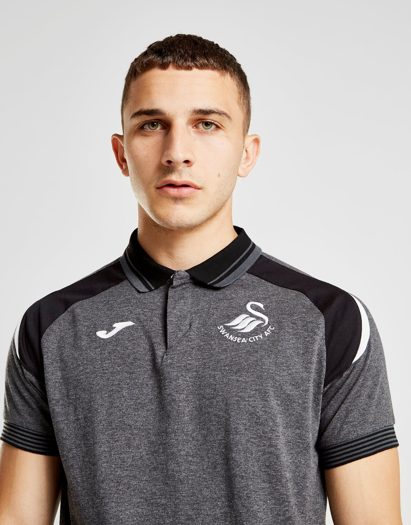 Joma Swansea City FC 2018/19 Training Polo Shirt