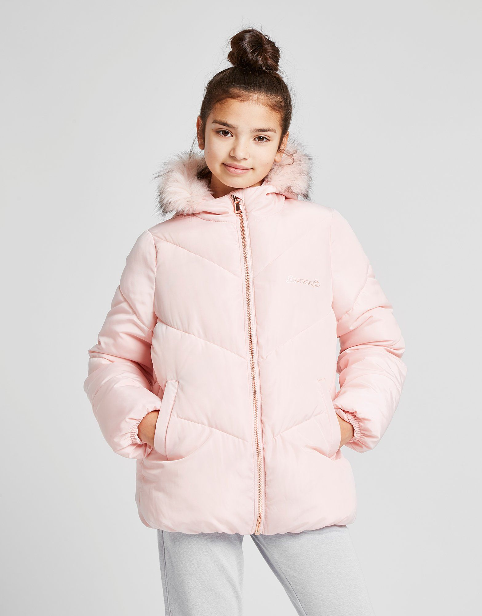 Sonneti Girls' Bubble Jacket Junior