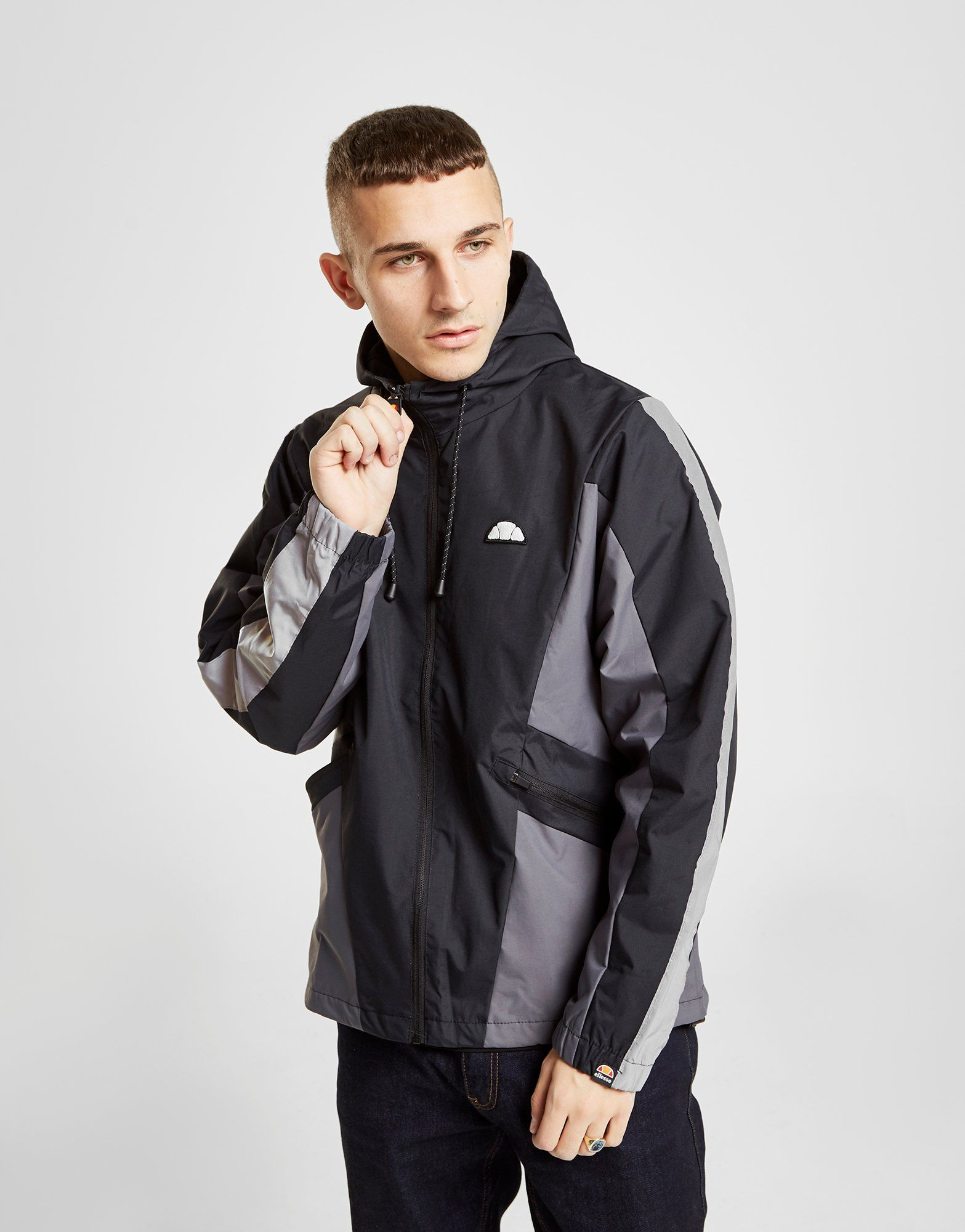 Ellesse Mannio Colour Block Hooded Jacket by Ellesse