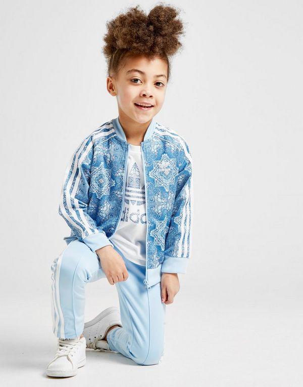 db1ffef74e1e15 adidas Originals All Over Print Superstar Tuta Bambina