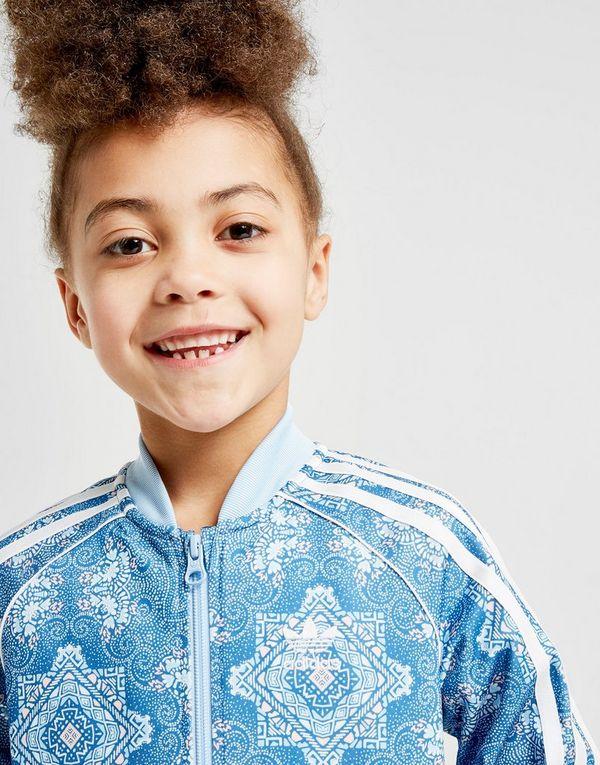 free shipping 73989 d225c adidas Originals Girls  All Over Print Superstar Suit Children